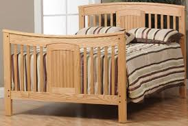Timber Creek Convertible Crib by Denbigh Slat Baby Crib Countryside Amish Furniture