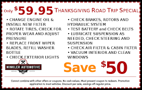 thanksgiving road trip gaithersburg auto repair 20850 winkler
