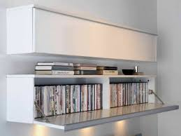 modern dvd storage cabinets with under counter lights good dvd