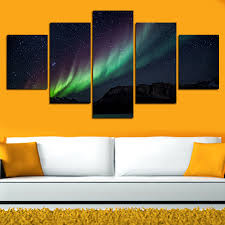 aliexpress com buy 5 pcs wall art landscape canvas paintings