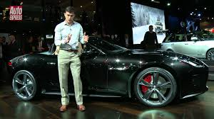 Jaguar F Type Official Pictures Auto Express Jaguar F Type At The 2012 Paris Motor Show Auto Express Youtube