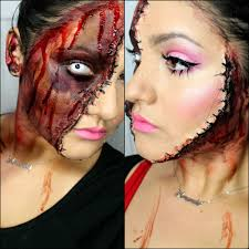 horror doll make up scary halloween tutorial youtube