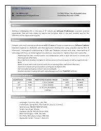 java developer resume template sample android developer resume