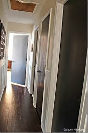 Best Way To Paint Beadboard - painting interior doors black southern hospitality