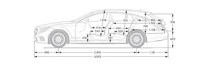 mercedes s class dimensions mercedes cls shooting brake dimensions