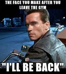 Gym Meme - leaving the gym meme by backhander memedroid
