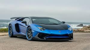 Blue Lamborghini Aventador - vorsteiner zaragoza lamborghini aventador 5k wallpaper hd car