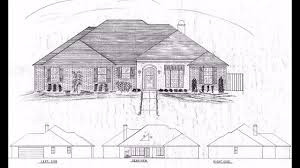 custom house plan 1996 sf blueprint acadian style plan 100 usd