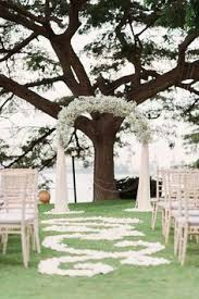 Wedding Arches Definition 03 Baby U0027s Breath Wedding Arch With Hanging Candle Holders Will