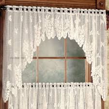Lace Valance Curtains Vineyard Grapes Lace Window Treatment