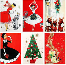 retro christmas cards 40 best vintage christmas cards images on vintage