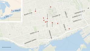 Map Of Little Italy Nyc by Toronto U0027s Ethnic Buffet The New York Times
