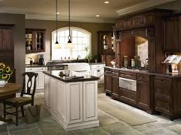 Contrasting Kitchen Cabinets Kitchen Cabinets Columbia Howard County Md