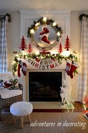 fireplace decorating ideas for christmas artofdomaining com