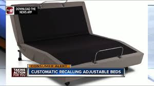 Bed Bases Customatic Recalls Adjustable Bed Bases For Shock Hazard Youtube