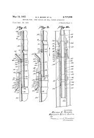 patent us2707998 setting tool dump bailer and well packer