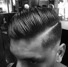 hard part hair men line up hair 06 mens hairstyle guide