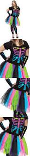 Ebay Size Halloween Costumes Halloween Costumes Women Womens Neon Rainbow Skeleton