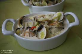 cuisiner les coques cassolettes de coques culinaire by minouchka