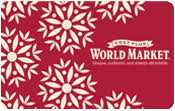 buy world market gift cards at a discount gift card