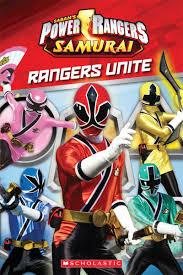 power rangers samurai rangers unite ray santos scholastic