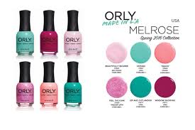 orly melrose spring 2016 nail polish collection