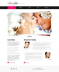 wedding web free wedding templates
