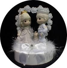 navy marine groom soldier bride precious moment wedding cake