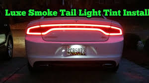 tail light tint installation luxe tail light tint install on dodge charger rt youtube