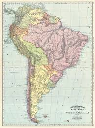 a map of south america map of south america geographicus antique maps