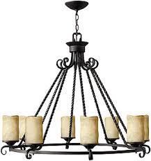 Candle Chandelier Lighting Casa 8 Light Candle Chandelier In Olde Black House Of Antique