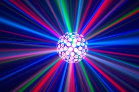 disco light chauvet hemisphere 5 1 led centerpiece effect disco light