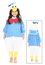 donald costume kids donald duck pajama costume