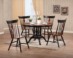 Dining Room Tables Pottery Barn by Sunset Trading 5pc 48 U2033 Round Dining Set With Fiddleback Chairs