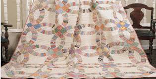 Wedding Ring Quilt by Double Wedding Ring Quilts U2013 Get Away With Scrappy U2013 Quilting Cubby