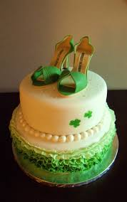 frog prince st patrick u0027s day bridal shower cake