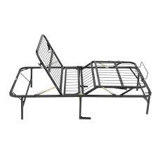 simple king size adjustable bed frame metal steel material 3200lbs