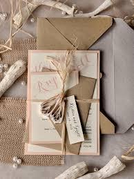 rustic chic wedding invitations mod finds rustic chic wedding invitations modwedding