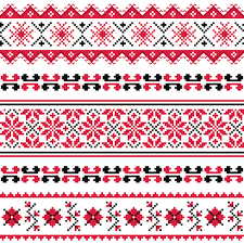 ukraine pattern vector ukraine style fabric pattern vector 05 vector pattern free download