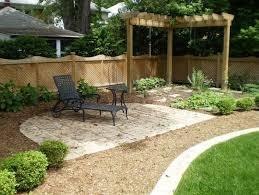 landscape design small backyard modern outdoor fireplace designs