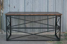 Buy Modern Desk by Buy A Hand Made Modern Industrial Desk Vintage Table French