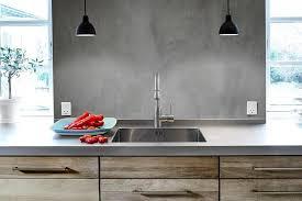 cuisine en beton delightful beton lisse salle de bain 3 b233ton cir233 r233sine
