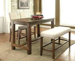 high table with stools kitchen table stools fantastic oak stools and wooden top table in
