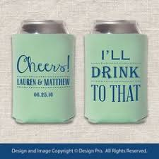 koozies for weddings these custom wedding koozies by gracious bridal will keep your