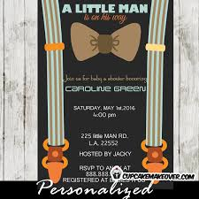bow tie baby shower brown bow tie baby shower invitations personalized