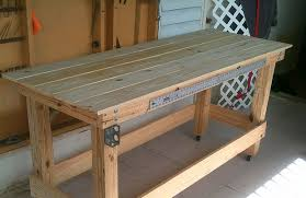 Simple Work Bench Make This Carving Workbench 32 Steps With Pictures