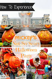mickey u0027s not so scary halloween party 2015 the mouse and the