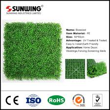 Fake Bushes Artificial Boxwood Mat Artificial Boxwood Mat Suppliers And