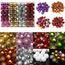s day decorations 24pcs glitter balls baubles hanging ornament party christmas s day