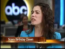 birthday party clowns for hire parents hire evil clown for kids birthday